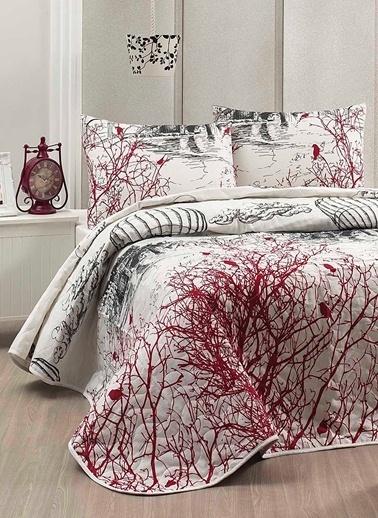 Eponj Home Çift Kişilik Yatak Örtüsü Beyaz